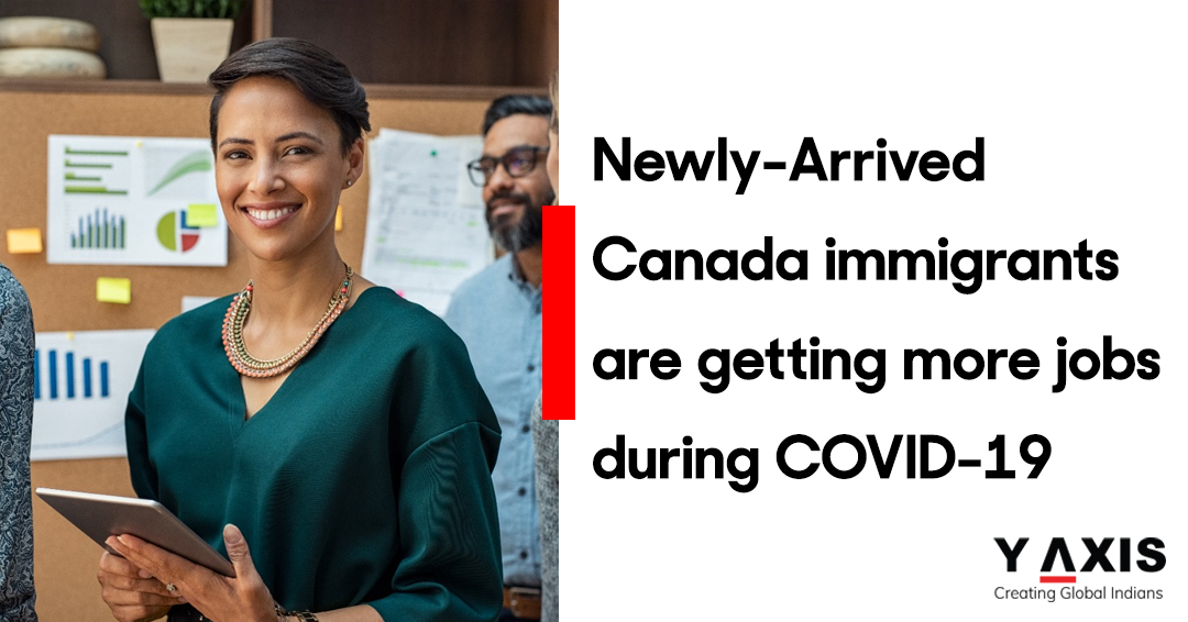 Canada immigrants are getting more jobs during COVID-19