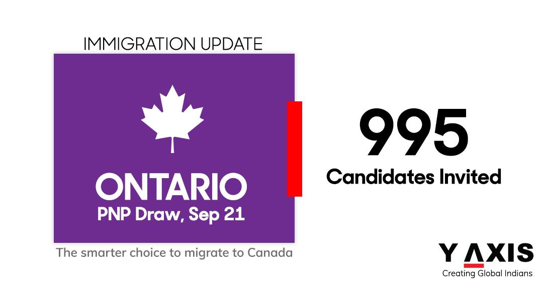 Ontario PNP Draw, Sep 21