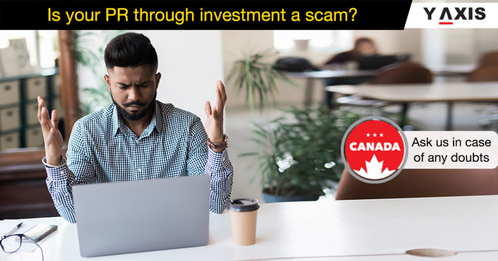 Is your PR through investment a scam
